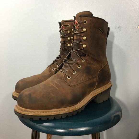 040dc0775d45 Red Wing Irish Setter Mesabi Steel Toe Work Boots.  M 5acbe57d3afbbdb6257088b8